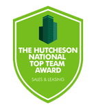 Hutcheson Award - National Team Award – Sales & Leasing